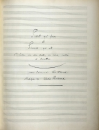 Alexis Rostand: Pierrot qui pleure et Pierrot qui rit (1895). Autograph manuscript of the full score. Royal College of Music, London.