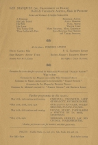 Second page of the 1934 programme.