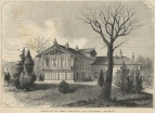 The chalet in which Lamartine died. The house in the Bois de Boulogne had been given to by Paris Town Council.