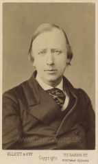 Photograph of Hallé by Elliott & Fry, London,  [c.1870].