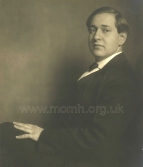 Erich Wolfgang Korngold. Formal portrait, 1919. The Brendan G Carroll Collection.