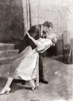 Maria Jeritza as Marietta and Orville Harrold as Paul in Act 3 of Die tote Stadt, Metropolitan Opera House, New York, November 1921. The Brendan G Carroll Collection.