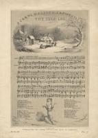 The Yule Log. [Words by Alfred Crowquill. Music by Thomas Baker.] W. H. Hammond: London [c.1855].