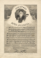 Christmas. [Words by Alfred Crowquill. Music by Thomas Baker.] W. H. Hammond: London [c.1855].