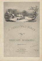 A Christmas Piece by Henry Brinley Richards. W. H. Hammond: London [c.1859].