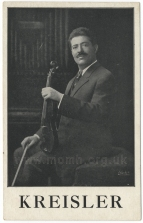 Advertising postcard for a concert with the Bournemouth Municipal Orchestra, Winter Gardens, Bournemouth, 23 October 1912.