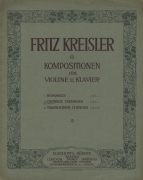 The earliest issues in Kreisler's series of 'Original Compositions' (Mainz, 1910).