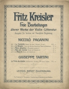 The first of Kresler's various series of arrangements and transcriptions (Leipzig, 1905).