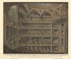 Interior of the third Drury Lane Theatre. Engraving by Dale after John Winston. Published 27 September 1820.