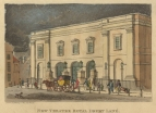 New Theatre Royal Drury Lane.  Drawn and engraved by Frederick Wilton Lichfield Stockdale, [c.1812].