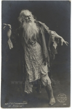 Gurii Fëdorovich Stravinsky (1884 - 1917) as the Miller in Rusalka.  Son of the bass Fedor Ignat'yevich Stravinsky and youngest brother of the composer.Rusalka.
