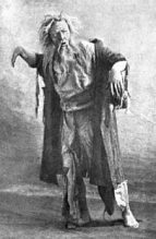 Feodor Ivanovich Chaliapin (1873 - 1938) as the Miller in Rusalka.