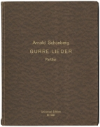 Gurre-Lieder. No.11 of the limited edition Full Score, signed by the composer.  Vienna/Leipzig, 1920.